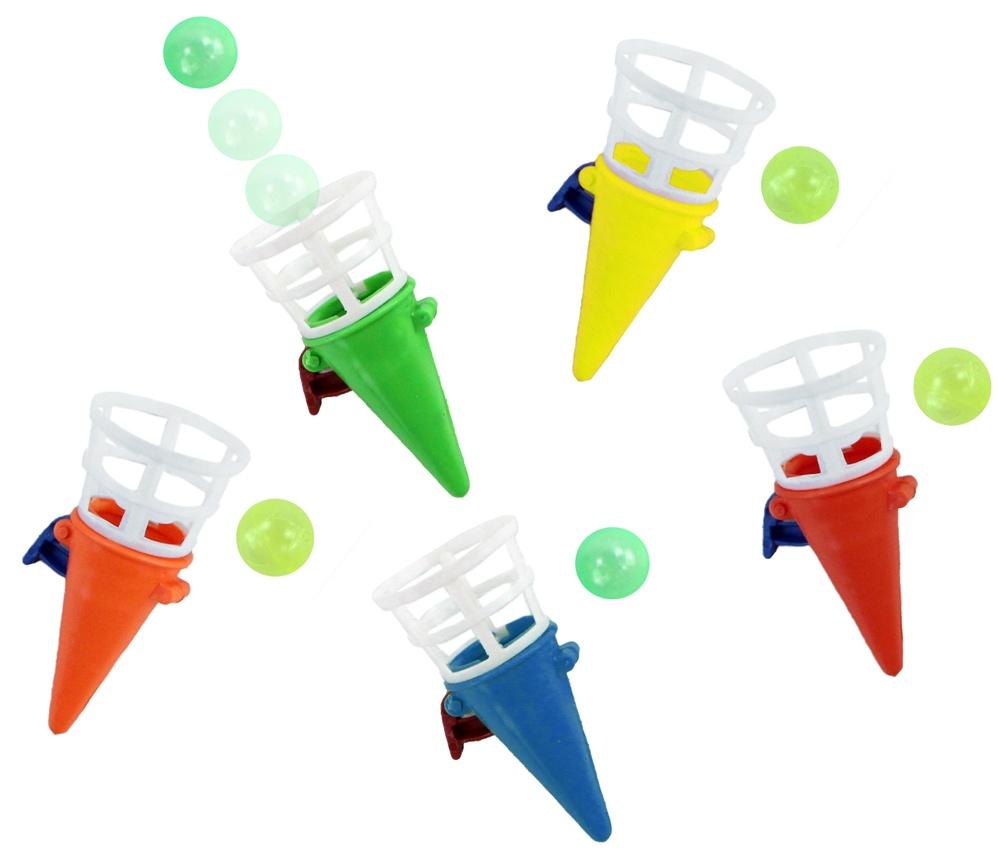 Fangballspiel Fangbecher mehrfarbig sortiert ca 7 cm
