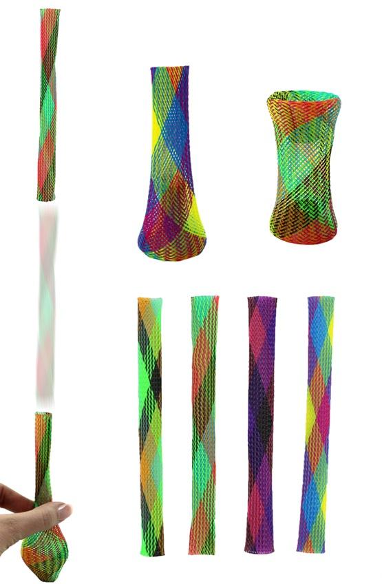 Hüpf Röhre Jumping Stick ca 18 x 1,5 cm