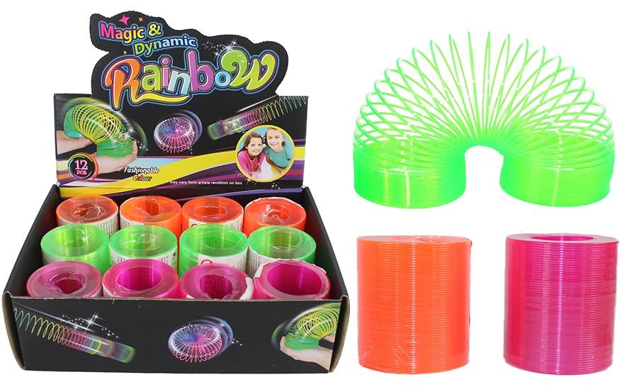 Neonspirale 3 farbig sortiert ca 55mm