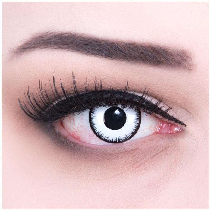 Paar Kontaktlinsen Lunatic
