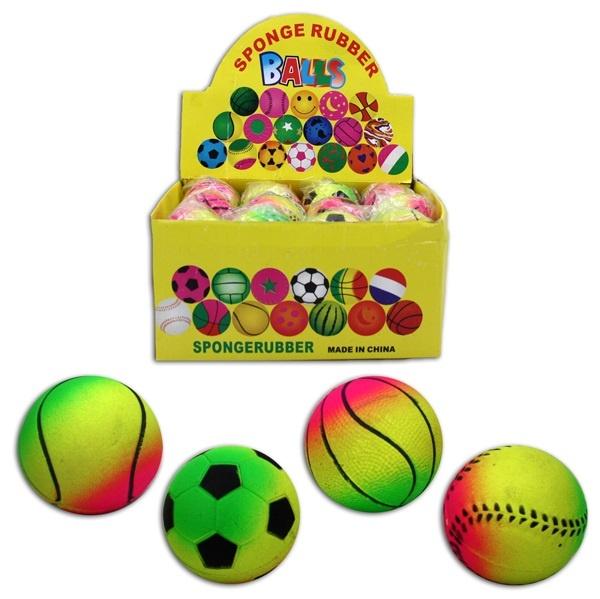 Sportball 4-fach sortiert ca 62mm