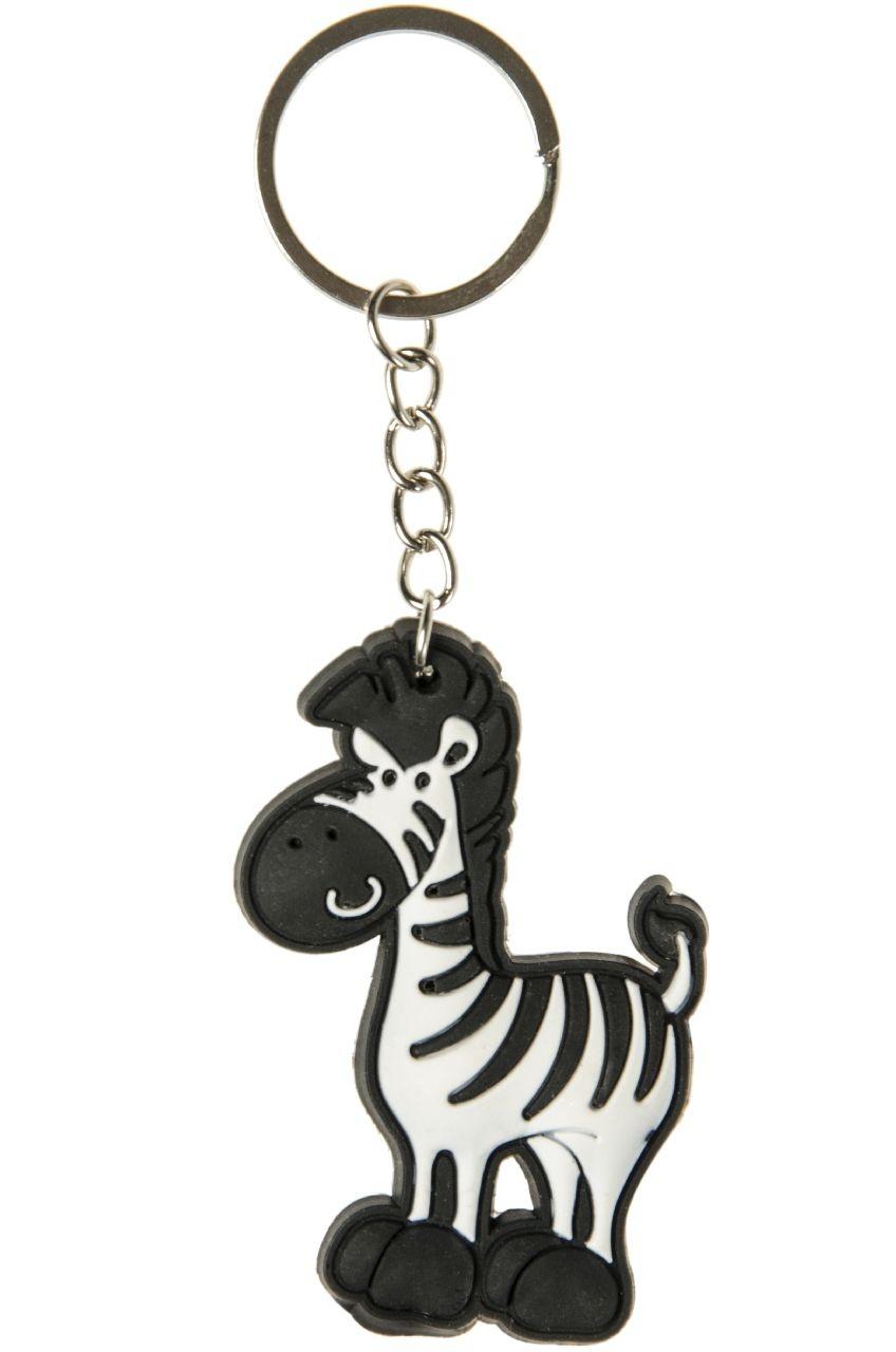 Zebra an Schlüsselanhänger