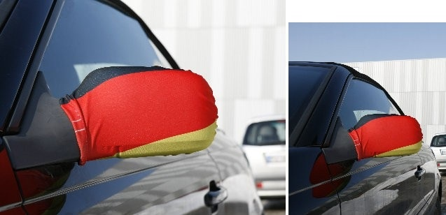 Deutschland Auto Außenspiegelbezug  2er Set