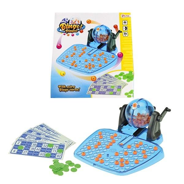 Bingo Spiel Set im Karton ca 25,5x24,5x10cm