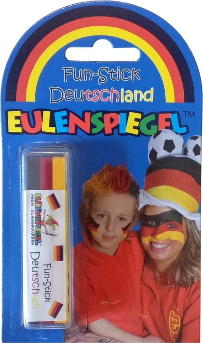 Deutschland-Schminkstift, 3-farbig