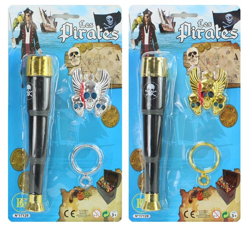 Piratenfernrohr mit Zubehör ca 20 cm