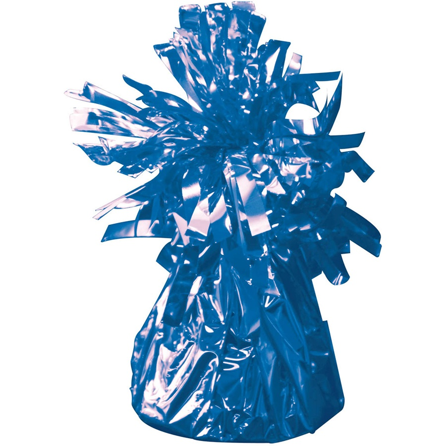 Ballongewicht in Folie blau ca 145-170 g