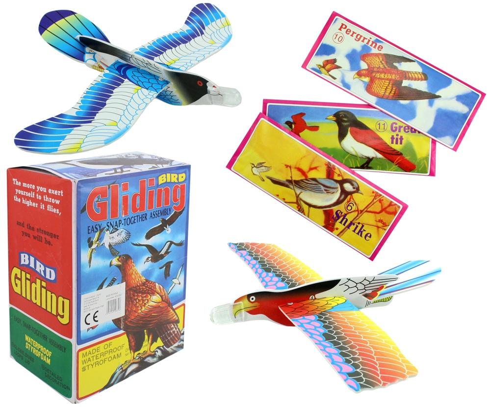Styroporflieger Vögel ca 20cm