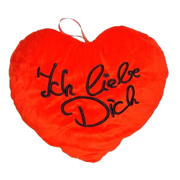 Herz rot Ich liebe Dich ca 40 cm