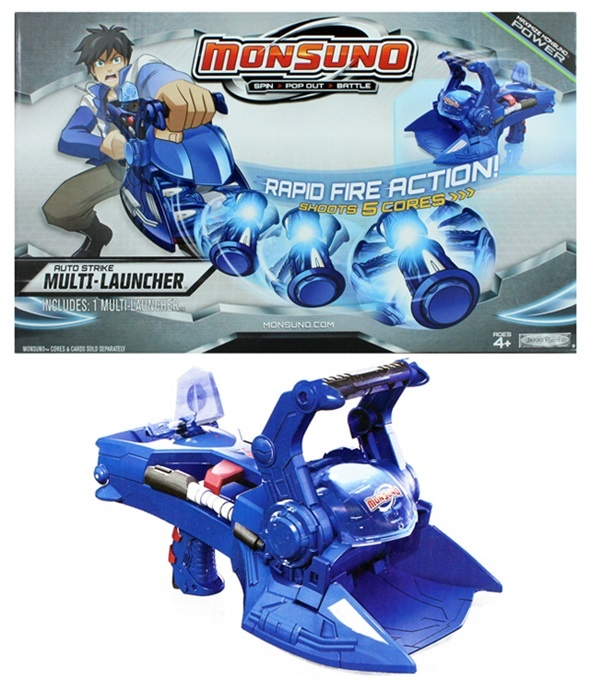 Monsuno Auto Strike Multi Launcher - in Box ca 33x20x16,5cm