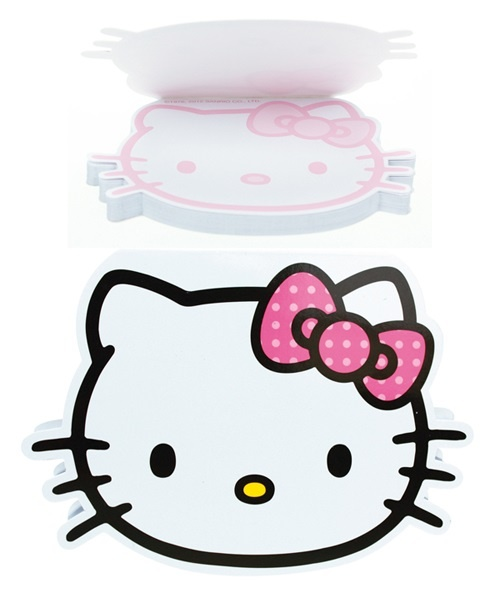 Hello Kitty Classic Notizblock  ca 15 x 11 cm