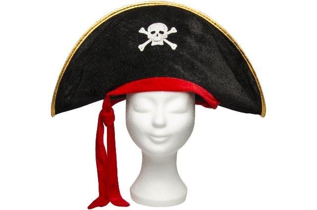 Hut Pirat für Kinder