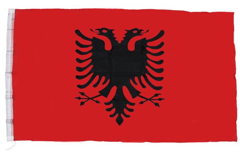 Flagge Albanien ca 150 x 90 cm