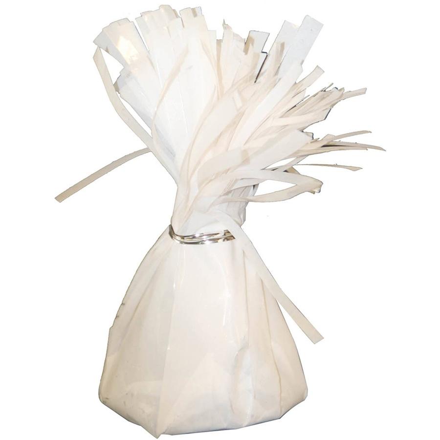 Ballongewicht in Folie weiß ca 145-170 g