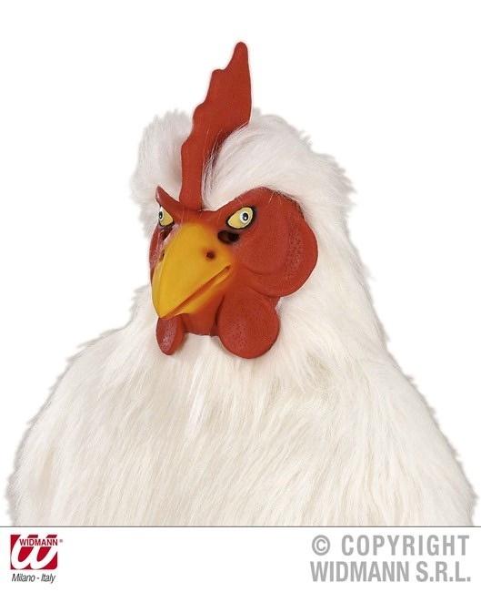 Maske Plüschmaske Huhn