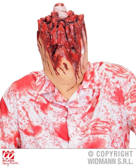 Maske abgeschnittener Kopf