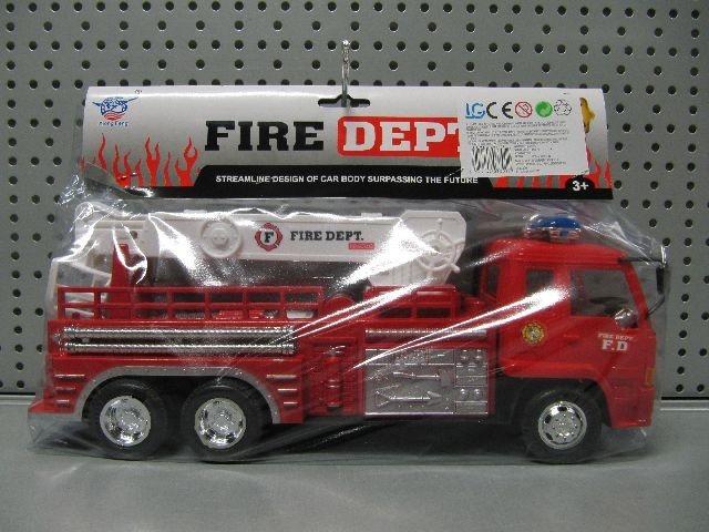 Feuerwehrwagen mit Leiter - ca 31,5cm