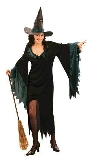 Kostüm - Hexe 2tlg