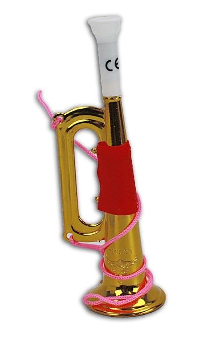 Trompete goldfarben ca 18 cm