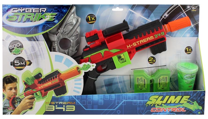 Schleim Pistole Cyber Strike in Box ca 55x30x7cm