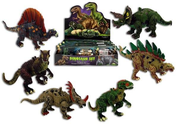 Dinosaurier 6-fach sortiert - ca 9-10cm
