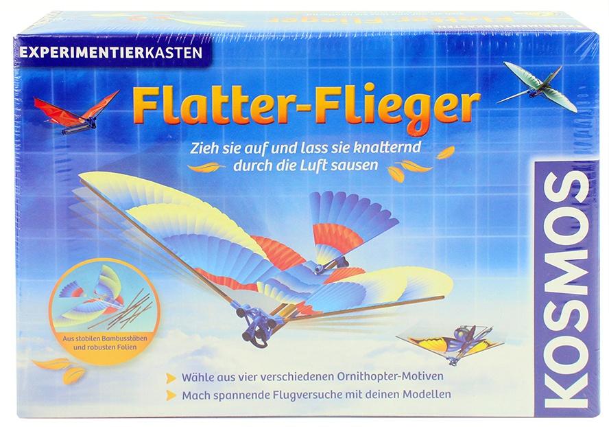 Kosmos Flatter-Flieger in Box ca 32,5x22x6,5cm