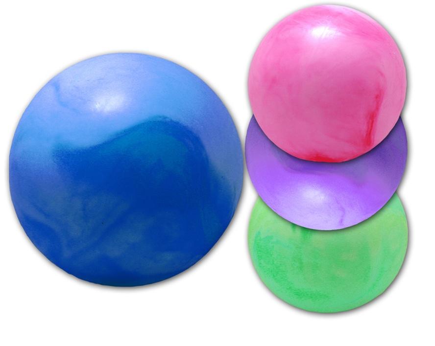 Ball marmoriert im Netz 4 Farben sortiert ca 30 cm
