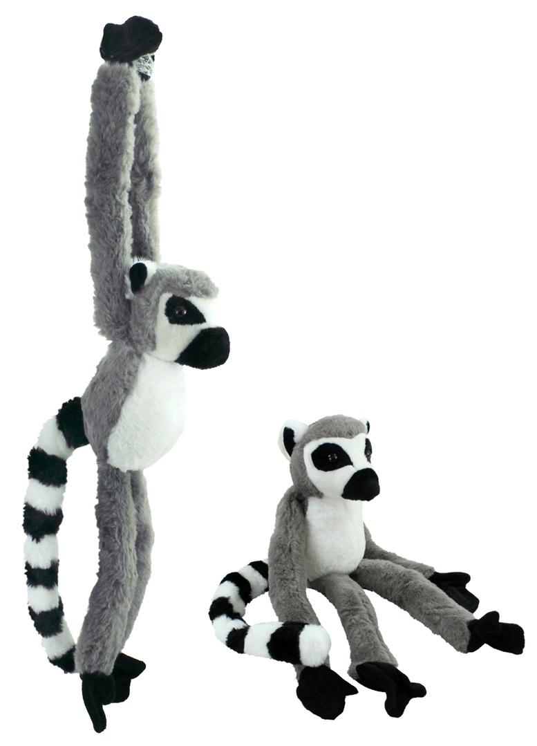 Affe Lemur hängend gesamt ca 65cm