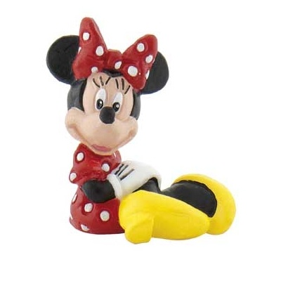DISNEY Bullyland Minnie Mouse sitzend
