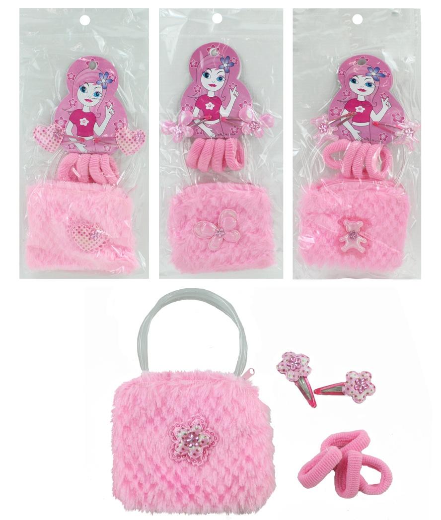 Tasche Mädchentasche 4-fach sortiert mit Zubehör
