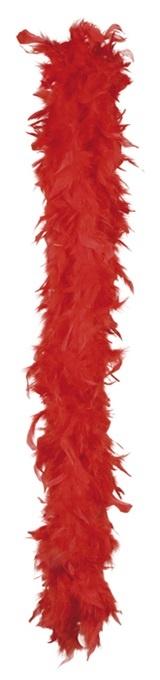 Federboa rot  - ca 180 cm