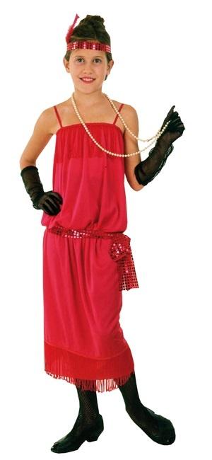 Kostüm - Kinderkostüm Flappergirl 20er Jahre ca 4-6 Jahre
