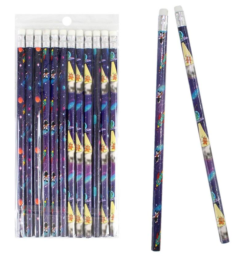 Bleistift Weltraum Space ca 19 cm
