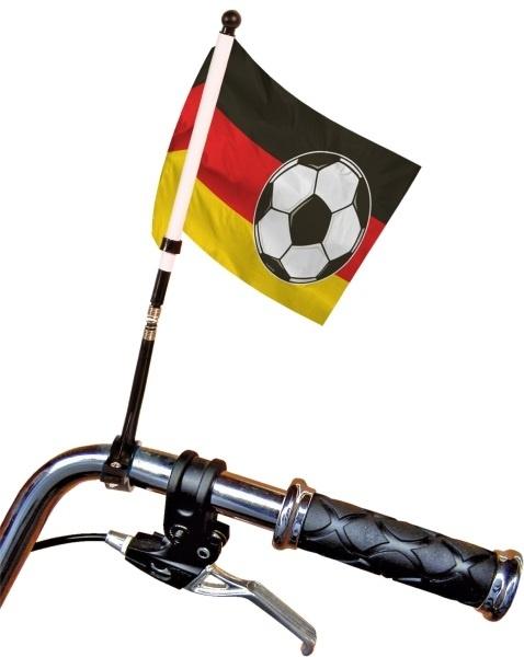 Deutschland Fahrrad Fahne ca 15 x 20 cm