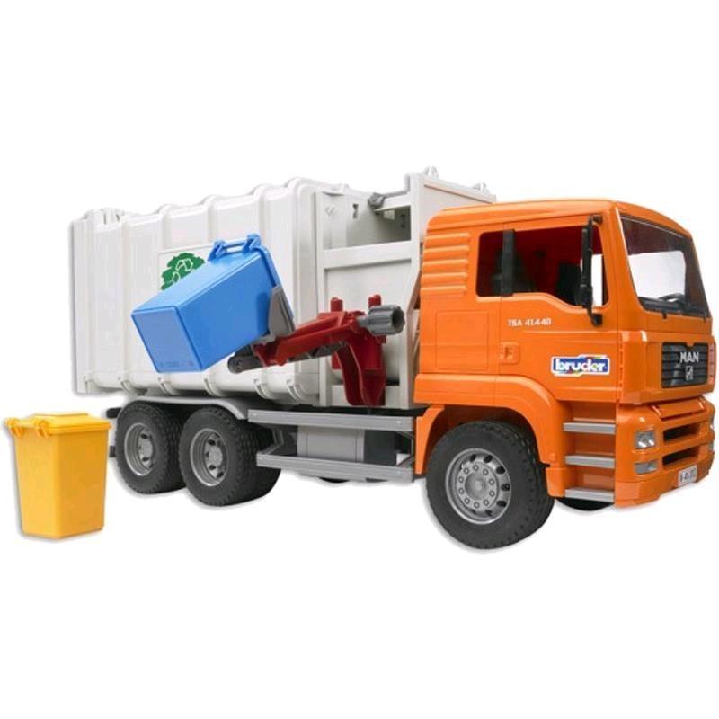 Bruder MAN Seitenlader Müll LKW 02761