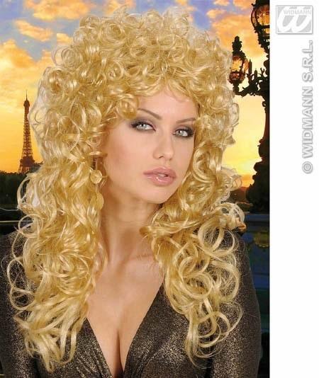 Perücke - Lockenpracht blond