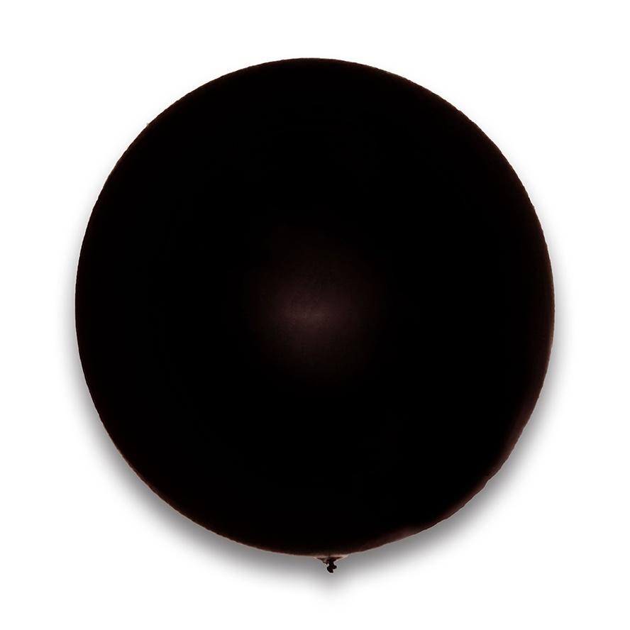 Ballon Riesenballon schwarz ca 180/200 cm Umfang