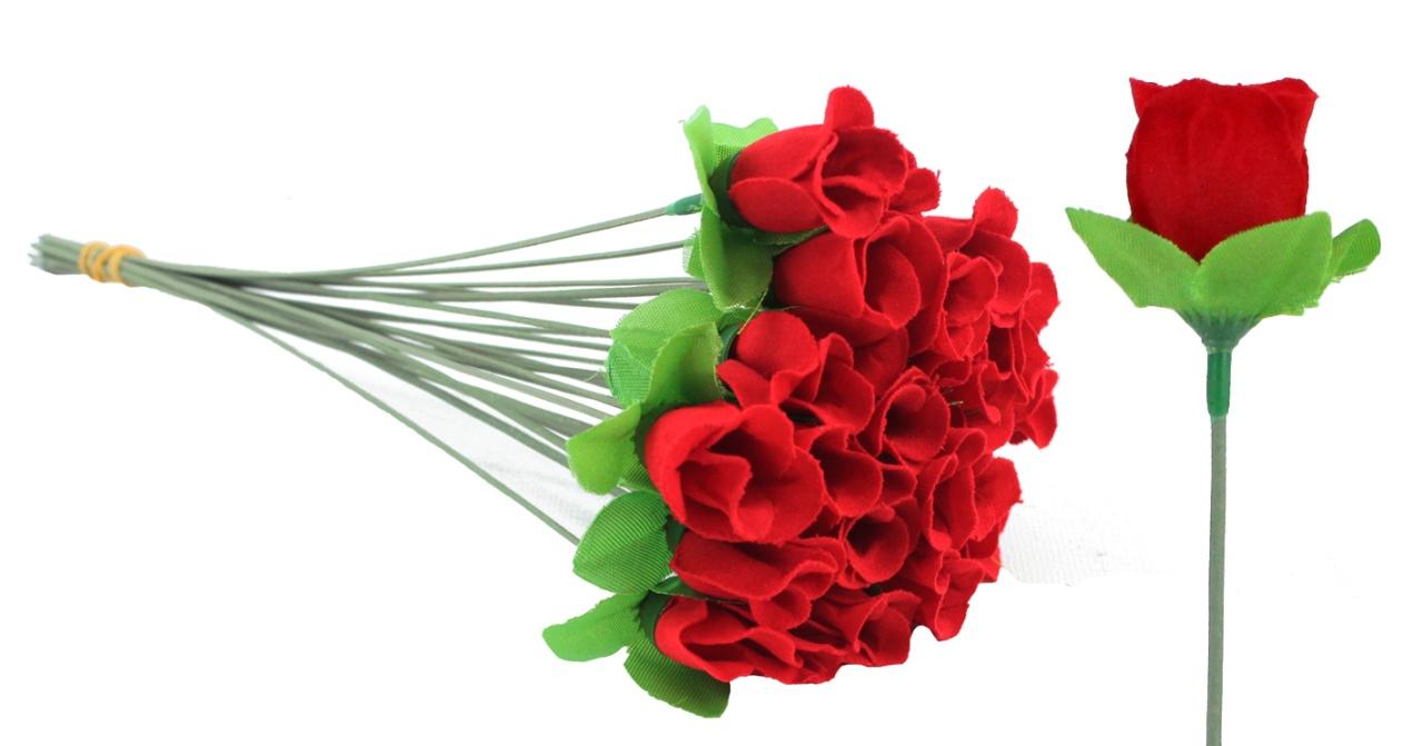Rose - Samt ca 31,5 cm