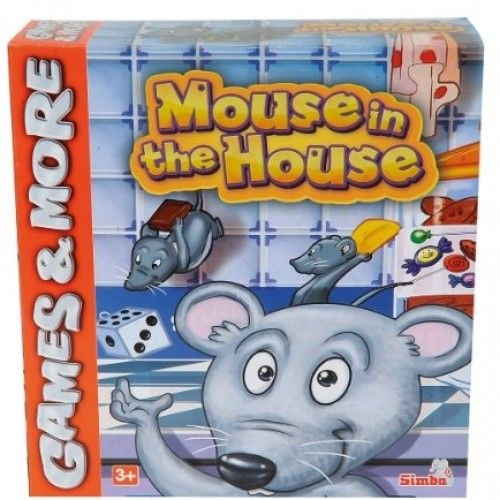 Simba Games & More - Mouse in the House Box ca 26x25x9cm