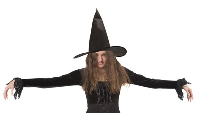 Hut - Hexenhut Ursula schwarz