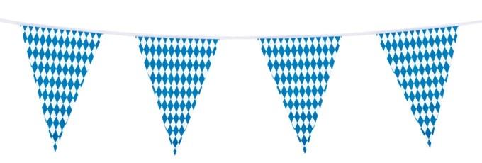 Wimpelkette Bayern circa 10 meter