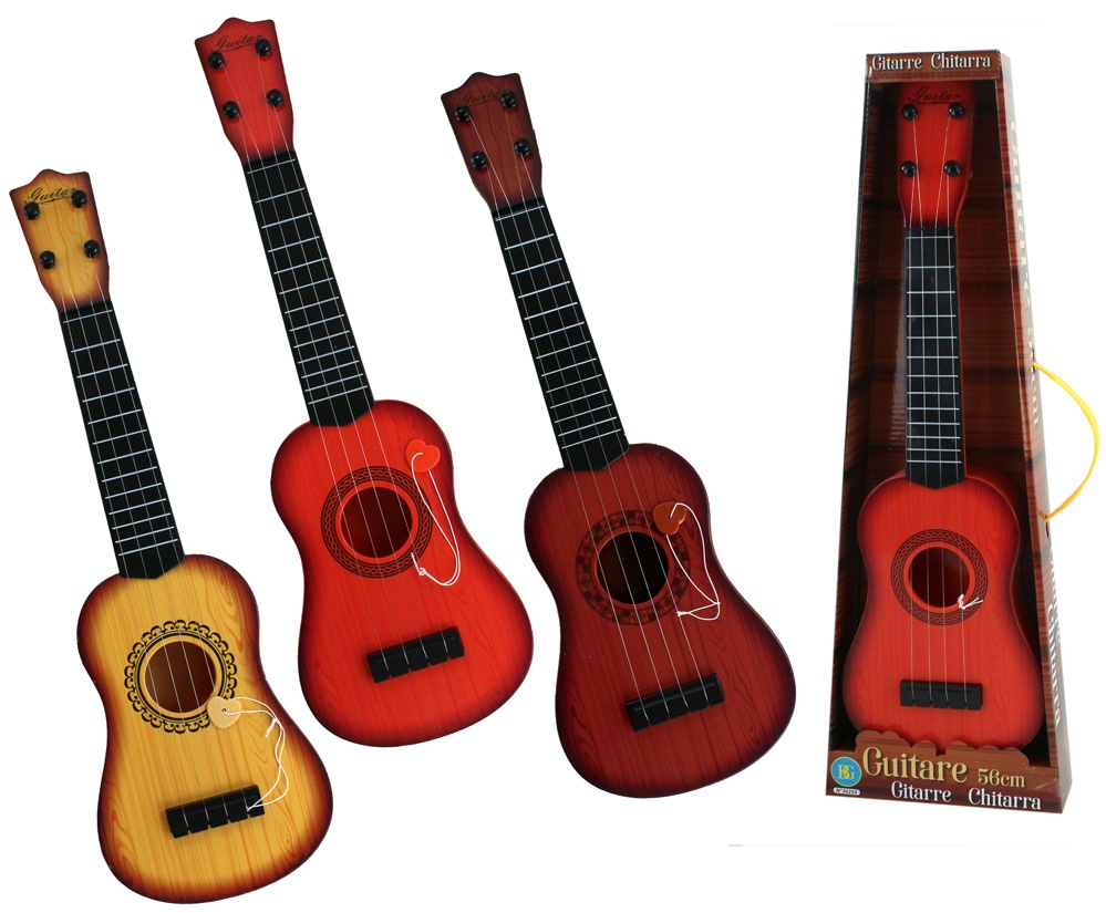 Gitarre 3-fach sortiert ca 56cm