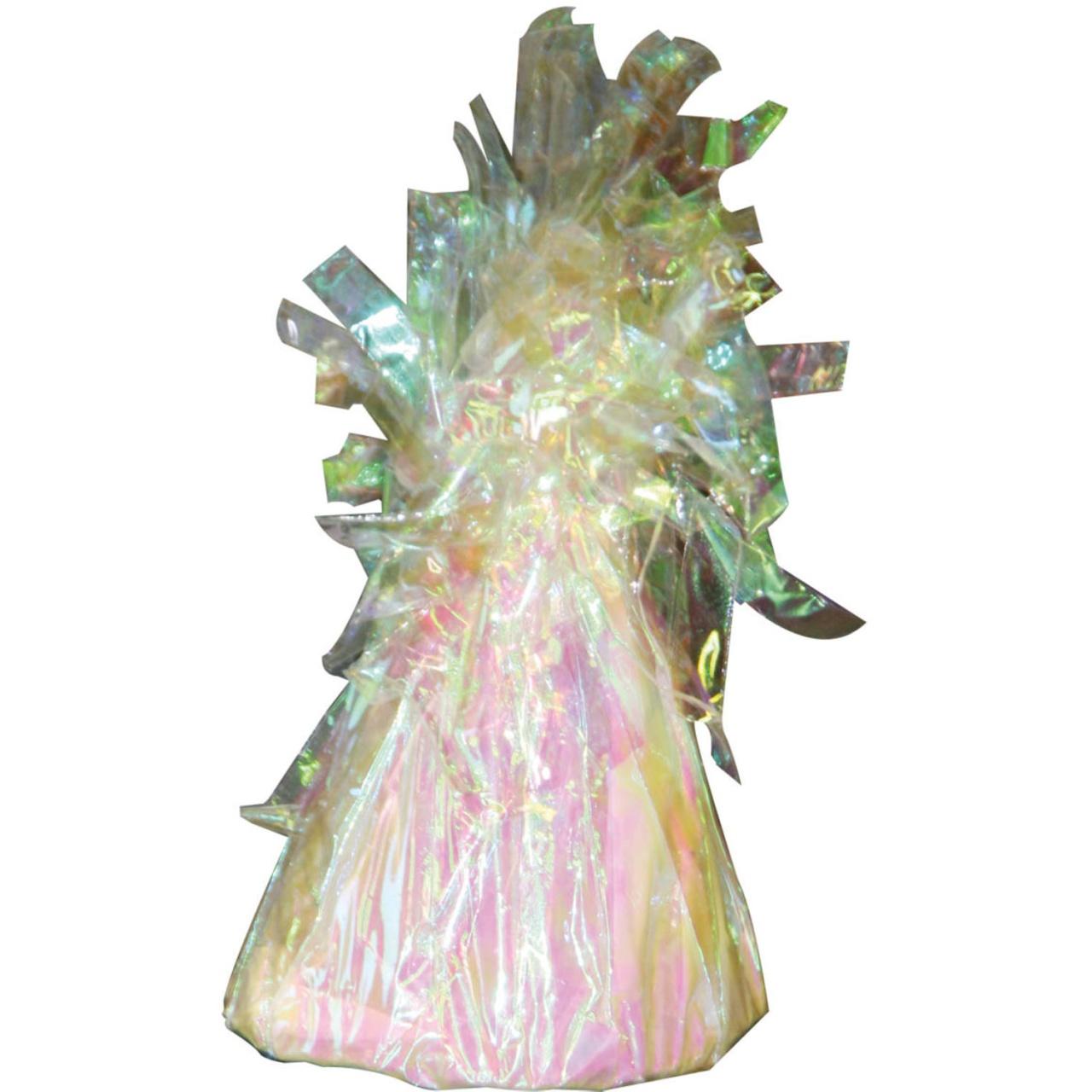 Ballongewicht in Folie perlmuttfarben holo ca 145-170 g