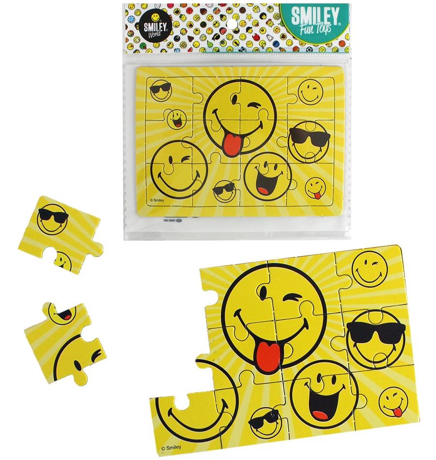 Smileyworld Puzzle 12 Teile ca 12x8,5cm