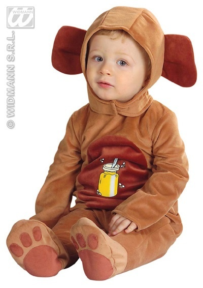 Kostüm - Bär für Kinder (Körpergröße ca 90cm)