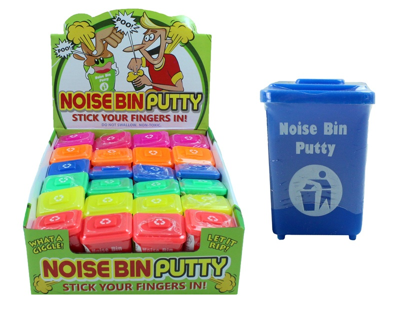 Pupsknete im Müllcontainer ca 4,5 x 3,5 x 6 cm