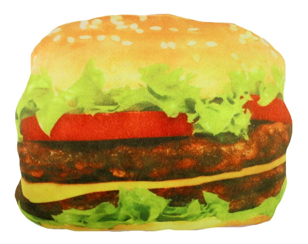 Hamburger Plüsch ca 35x27x10cm