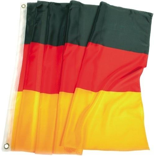 Flagge Deutschland mit 2 Ösen ca 150 x 90 cm