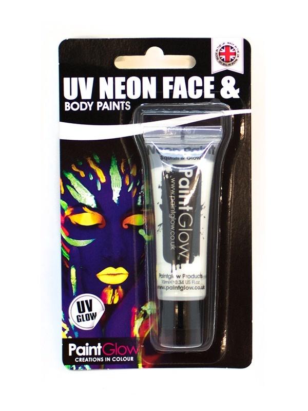 UV Gesicht & Körper Farbe weiß ca 10 ml