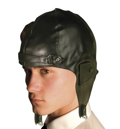 Hut - Mütze Pilot Jackson Lederimitat